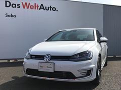VW ゴルフGTE当店デモカー DCC ACC Navi Bカメラ 18インチ