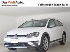 VW ゴルフオールトラック4MOTION UPグレード認定中古車 ブラウンレザーシート