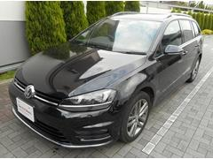 VW ゴルフヴァリアントRライン 認定中古車 純正ナビ リアビューカメラ
