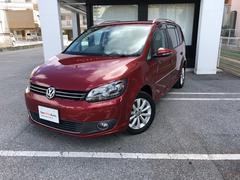 沖縄の中古車 フォルクスワーゲン VW ゴルフトゥーラン 車両価格 150万円 リ済別 2012年 4.4万K ワイルドチェリーM