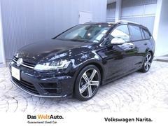 VW ゴルフRヴァリアントR VW認定中古車 Navi+ETC