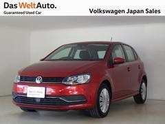 VW ポロTSIコンフォートライン社用車使用 純正SDナビバックカメラ