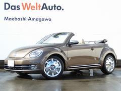 VW ザ・ビートル・カブリオレ70's Beige Leather Navi ETC BC