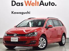VW ゴルフヴァリアントTSI Comfortline NAVI ETC BC