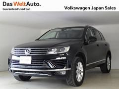 VW トゥアレグ V6 Upgrade Package 認定中古車 純正ナビ