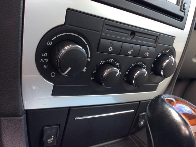 オートエアコンとシートヒーター装備でいつでも快適な車内を保てます