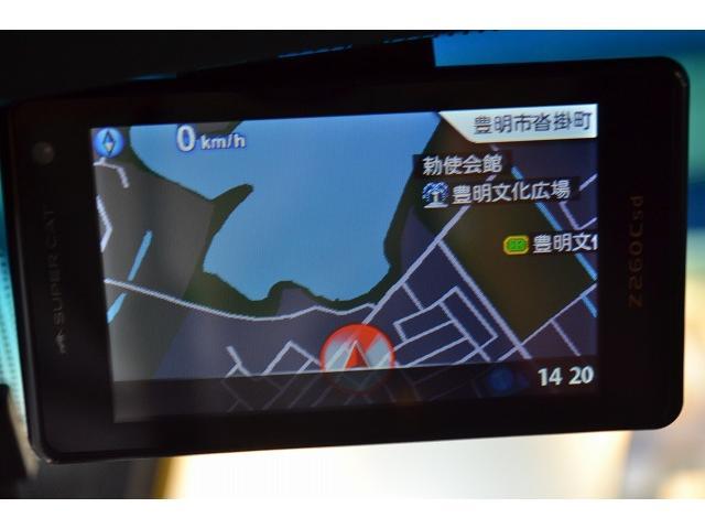 レーダー装着!トランク内に、JL AUDIOアンプが装備されておりますので、音響もGGOODです!