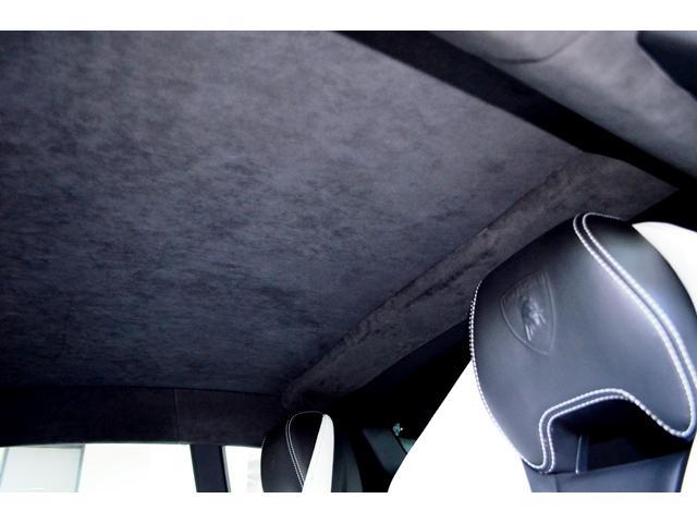 セット・オプションのアルカンタラ・ルーフライニングを装備しています。