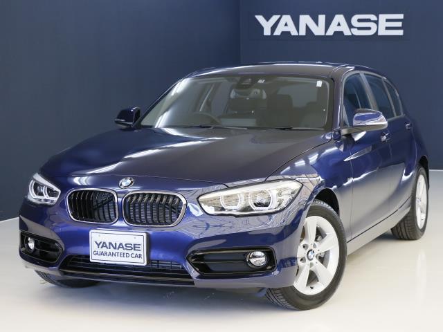 BMW 118iスポーツ 1年保証 登録済未使用車 新車保証