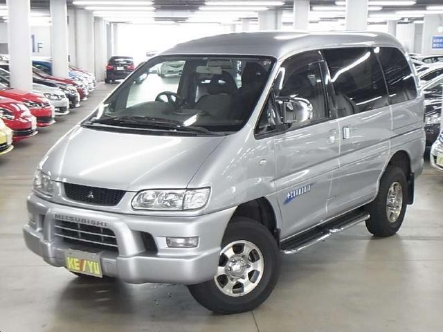 三菱 デリカスペースギア シャモニー ハイルーフ 7ニン 4WD ...