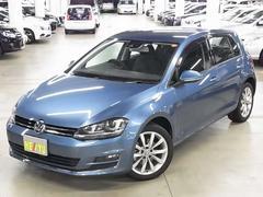 VW ゴルフTSIハイラインブルーモーションテクノロジー 7DSGパドル