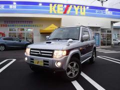 パジェロミニエクシード 4WD HDDナビ 純正アルミ ルーフレール