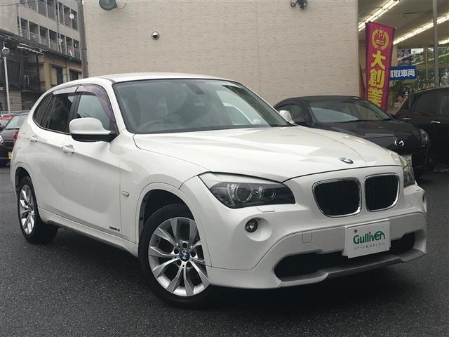 BMW X1 sDrive18i ポータブルナビ・純正CD・ETC...