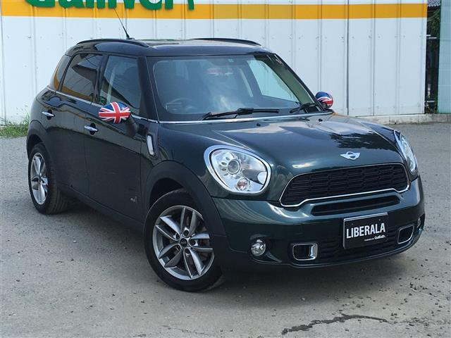 MINI MINI クーパー S オール4 ターボHDDナビ4WD...