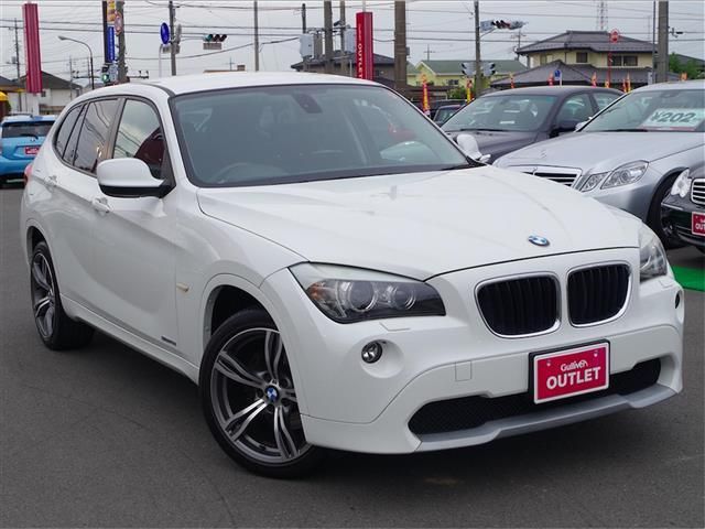 BMW X1 社外HDDナビ フルセグ HID 純正18インチアル...