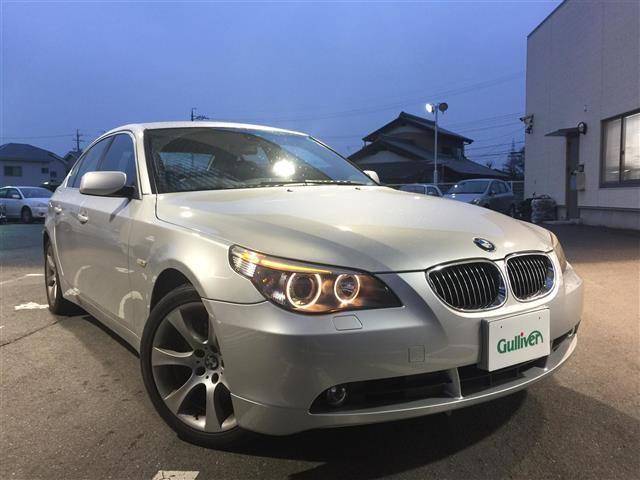 BMW 5シリーズ 525i メーカーナビ 革シート ETC (検...