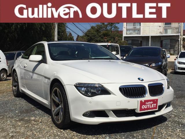 BMW 6シリーズ 6シリーズ 電子シフト ナビ サンルーフ キー...