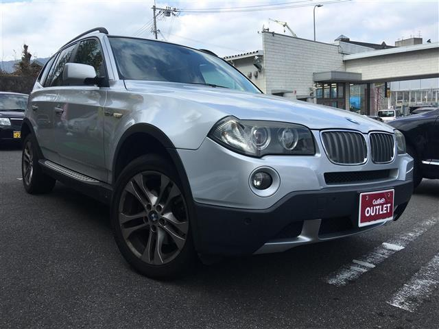BMW X3 3.0si 4WD レザーシート HID (検30.9)