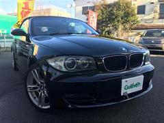 BMW1シリーズ カブリオレ 赤革シート 社外ナビ バックカメラ