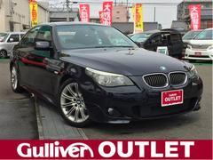 BMW5シリーズ Mスポーツ 純正HDDナビ 純正18AW ETC