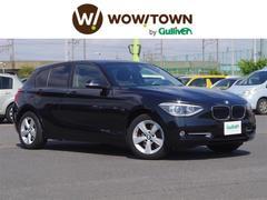 BMW1シリーズ スポーツ 純HDDナビ 社レーダーASSURA