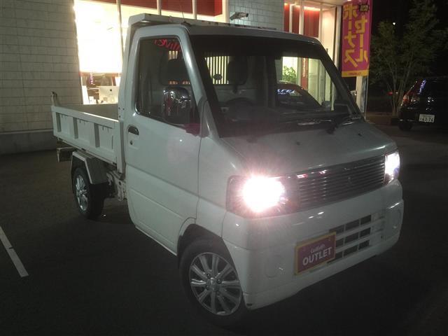 三菱 ミニキャブトラック ダンプ 4WD 5速マニュアル (車検整備付)