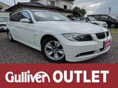 BMW3シリーズ ツーリング 純HDDナビ 本革シート サンルーフ