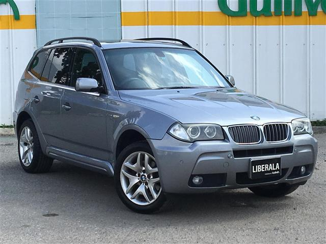 BMW X3 2.5si MスポーツI 4WD サンルーフ HDD...