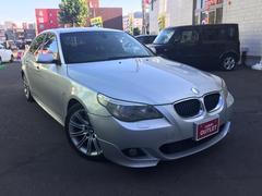 BMW5シリーズ Mスポーツ 黒ハーフレザーシート キーレス