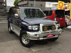 パジェロロング エクシード LTD 4WD ワンオーナー サンルーフ
