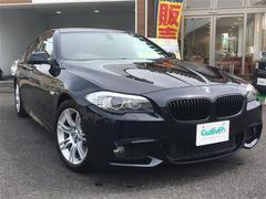 BMW5シリーズ Mスポーツ 本革シート サンルーフ HDDナビ