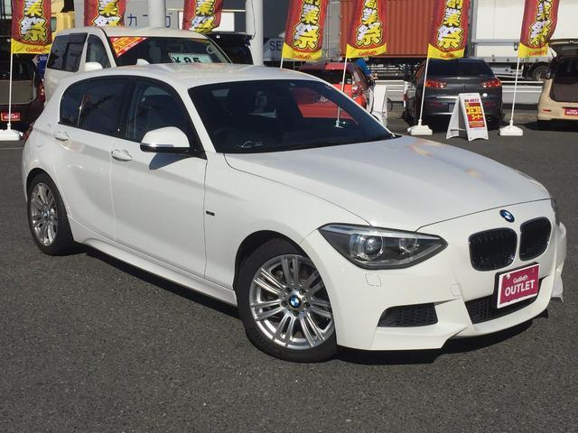 BMW 120I Mスポーツ 純正HDDナビ バックカメラ