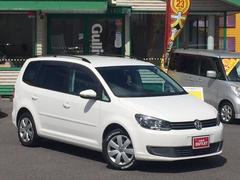 VW ゴルフトゥーランTSI コンフォートライン メモリナビDVD再生 後席モニタ