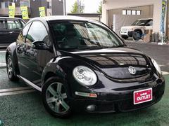 VW ニュービートルLZ ワンオーナー 本革シート サンルーフ ETC CD