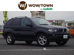 BMW X53.0i 4WD サンルーフ 本革 Pシート ETC HID