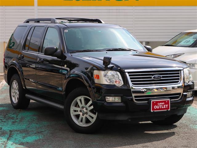 フォード エクスプローラー XLT 4WD サンルーフ HDDナビ...