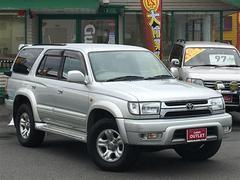 ハイラックスサーフSSR−X ワイド 4WD ワンオーナー キーレス CD