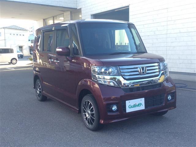 ホンダ N BOXカスタム カスタム G 4WD HID スマート...