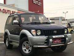 ランドクルーザープラドRZ ワイド 4WD サンルーフ