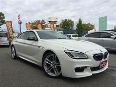 BMW6シリーズ グランクーペ Mスポーツ 革シート HDDナビ