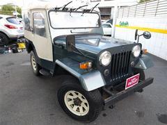 ジープ4WD ターボ 背面タイヤ