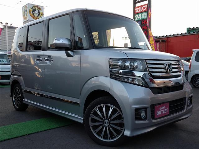 ホンダ N BOXカスタム カスタム G ターボパッケージ 4WD...