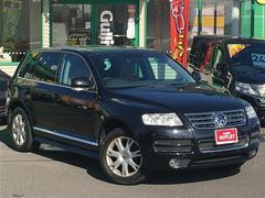 VW トゥアレグV8 Stolz 4WD 本革シート サンルーフ HDDナビ