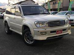 ランドクルーザー100VX−LTD Gセレクション 4WD 本革シート サンルーフ