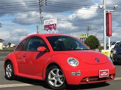 VW ニュービートルサルサ 本革シート シートヒーター HID 社外オーディオ