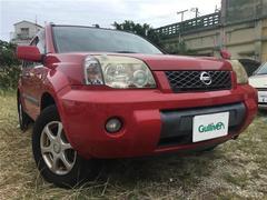 沖縄の中古車 日産 エクストレイル 車両価格 48.1万円 リ済別 平成17年 15.6万K バーニングレッド