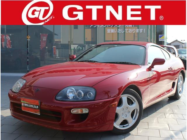 TOYOTA SUPRA SZ RED Km Details Japanese Used - Sports cars 80 000