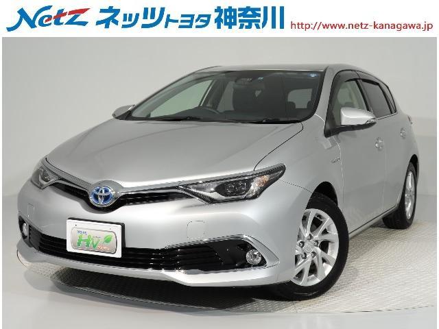 Toyota Auris Hybrid 2016 Silver M 28 000 Km Details
