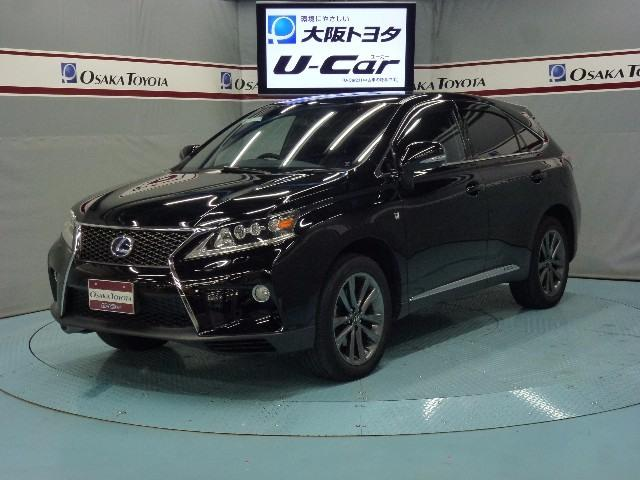 レクサス RX450h Fスポーツ 4WD HDDナビ 本革