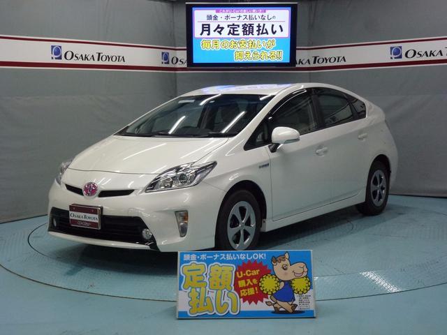 トヨタ プリウス S HDDナビ フルセグ HID 2年保証 (検...